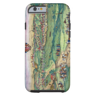 Town Plan of Grodno, from 'Civitates Orbis Terraru Tough iPhone 6 Case