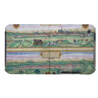 Town Plan of Vienna and Buda, from 'Civitates Orbi iPod Touch Covers