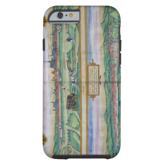 Town Plan of Vienna and Buda, from 'Civitates Orbi Tough iPhone 6 Case