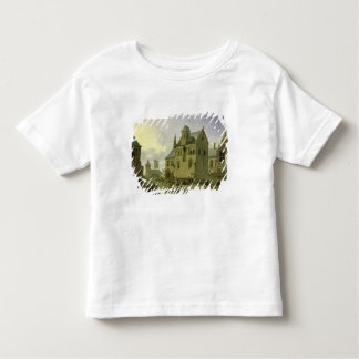 Town square with figures and peasants trading toddler T-Shirt