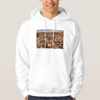 Town View From Above Hoodie