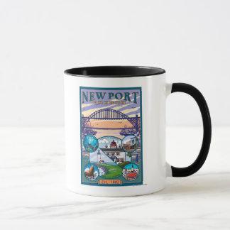 Town Views - Newport, Oregon Mug