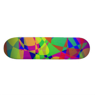 Town Walk Art Skate Board Deck