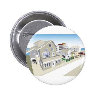 TownandCommunity 6 Cm Round Badge