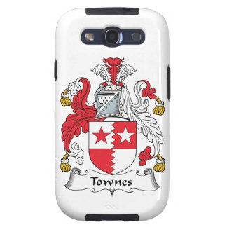 Townes Family Crest Samsung Galaxy SIII Covers