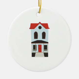 Townhouse Christmas Ornament