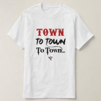 Towns Lyrics - Unisex Shirt