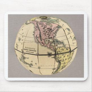 Townsend's Patent Folding Globe Mouse Pad