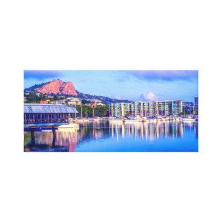 Townsville Marina, City Skyline Art, City Sunset, Canvas Print