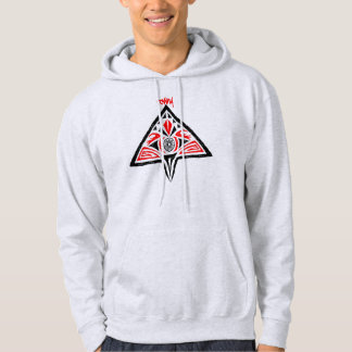 Towny Tribal Graphic Hoodie