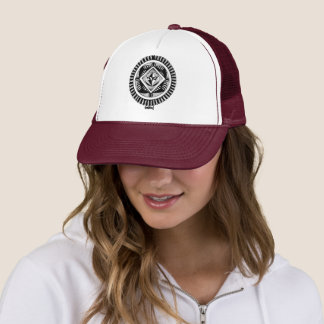 Towny Tribal Graphic Trucker Hat