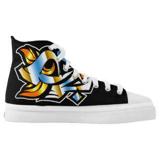 Towny Urban Graffiti Shoes