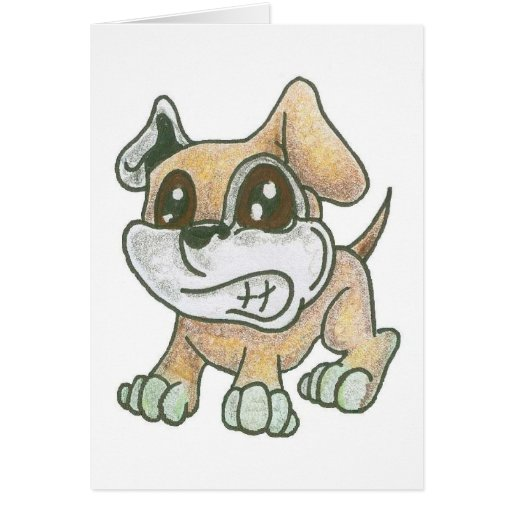 TOWT Mascot Dog Blank Cards
