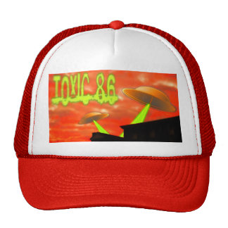 TOXIC 86- Flying saucer hat