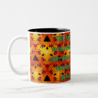 Toxic Burn Two-Tone Coffee Mug