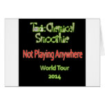 Toxic Chemical Smoothie 2014 World Tour Cards