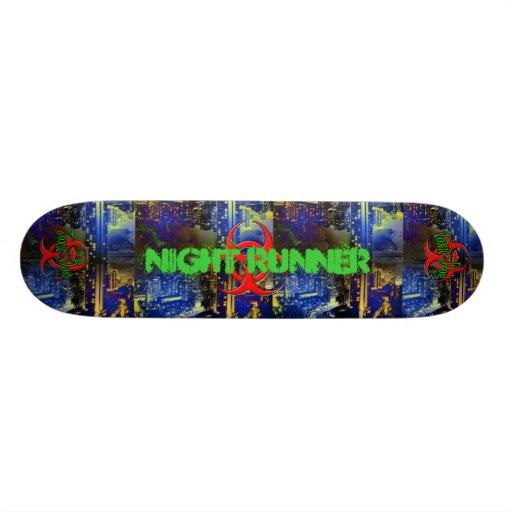 Toxic Dog  Night Runner Skate Board