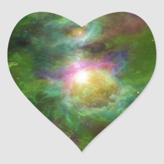 Toxic Galaxy Hip Space Art Sticker