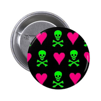 Toxic Love 6 Cm Round Badge