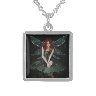 Toxic - Neckless Square Pendant Necklace