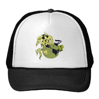 toxic planet mesh hat