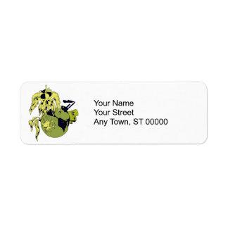 toxic planet return address label