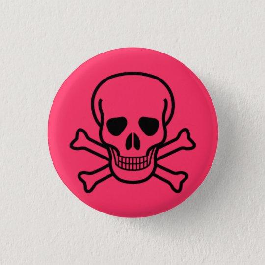 Toxic punk love 3 cm round badge