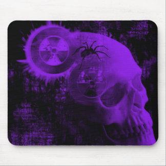toxic skull mouse mat