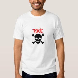 Toxic Skull Tee Shirts