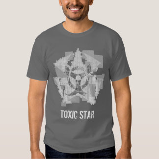 Toxic Star White T-shirts