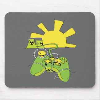 toxic video game pad controller mousepad