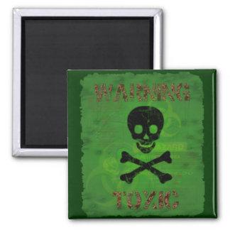 Toxic Warning Magnet