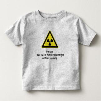 Toxic warning toddler T-Shirt