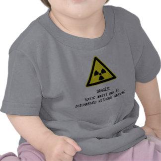 Toxic waste Ironic Baby Tee Shirt