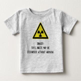 Toxic waste Ironic Baby Tshirt