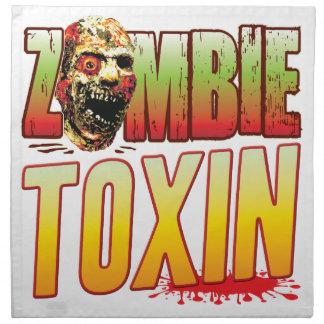 Toxin Zombie Head Cloth Napkins