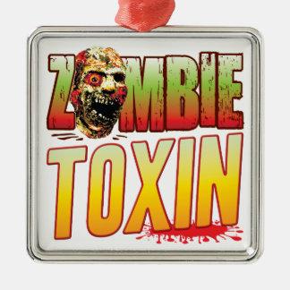 Toxin Zombie Head Christmas Tree Ornament