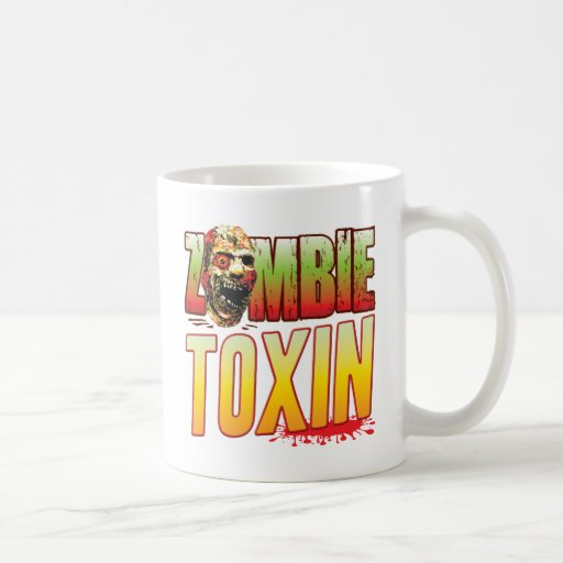 Toxin Zombie Head Coffee Mug