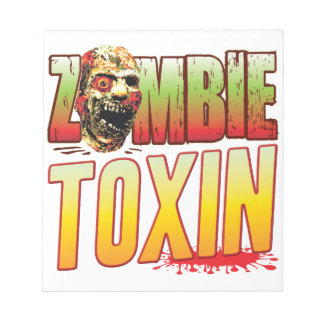 Toxin Zombie Head Notepads
