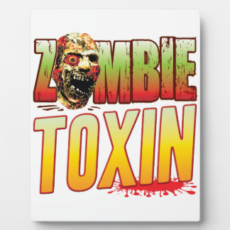 Toxin Zombie Head Photo Plaques