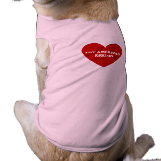 Toy American Eskimo Dog Doggie Shirt