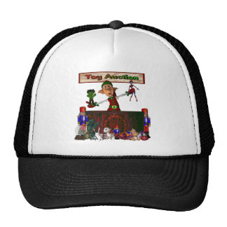 Toy Auction Elf Design Christmas Holiday Trucker Hats
