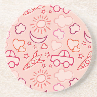 toy background drink coaster