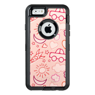toy background OtterBox defender iPhone case