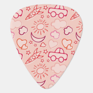 toy background plectrum