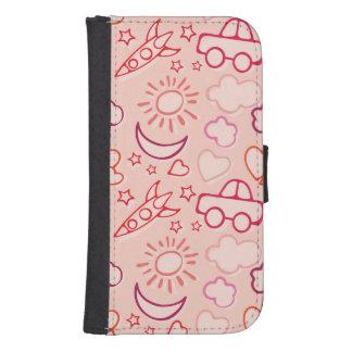 toy background samsung s4 wallet case