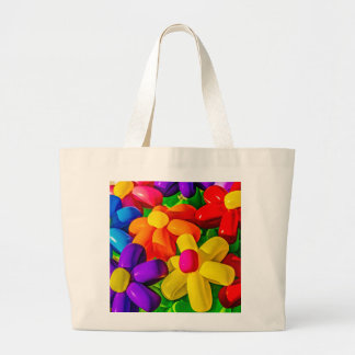 Toy Balloons - Urban Flowers Large Tote Bag