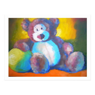 Toy bear postcard