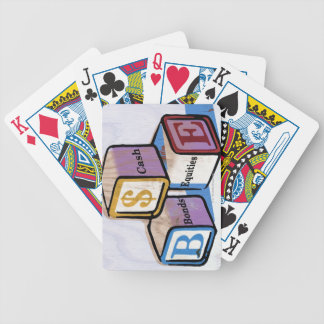 Toy Blocks Bicycle Playing Cards
