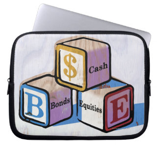 Toy Blocks Laptop Sleeve